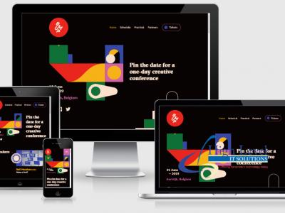Interactive Responsive Website