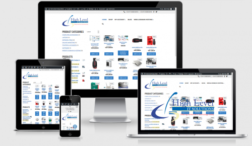 E-commerce responsive website dedsign