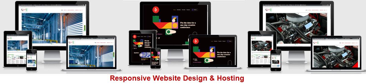 Responsive Website Design and Hosting