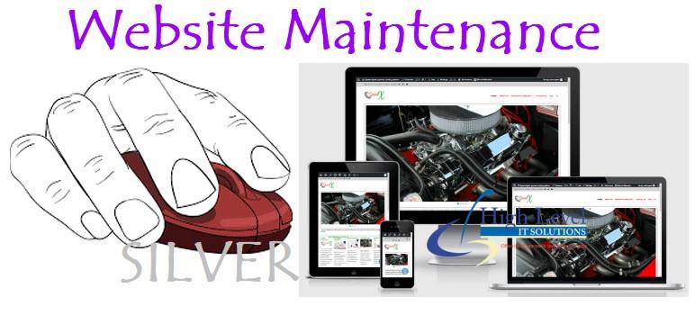 Web Maintenance Silver Package